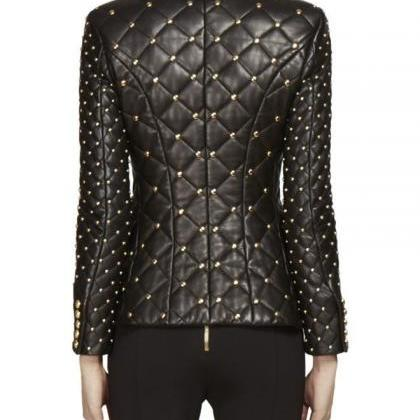 New Handmade Woman Golden Balmain S..