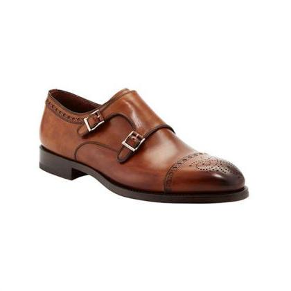 Oxford Leather Shoes, Genuine Leath..