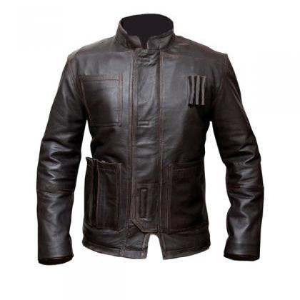 Star Wars Han Solo Jacket, Mens Lea..