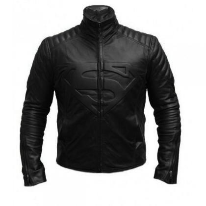 Man of Steel Smallville Leather Bik..