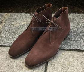 Chukka Suede Leather..