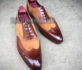 Handmade Oxford Wing..