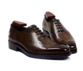 Men Wingtip Oxford S..
