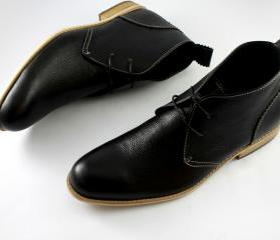 HANDMADE MEN'S BLACK..