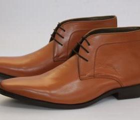HANDMADE MEN'S TAN B..