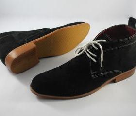 Handmade Mens Black ..
