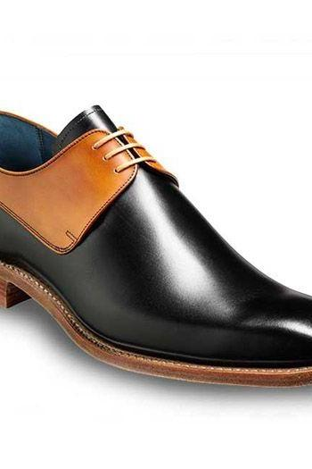New Handmade Men Two Tone Leather dress formal Shoes