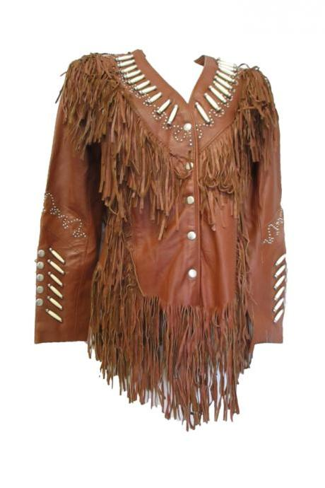 Western Highly Fringed Cowgirl Jacket Western Clothing jacket