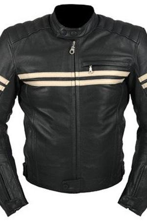 Cruiser Motorbike Leather Jacket, Mens Leather jacket