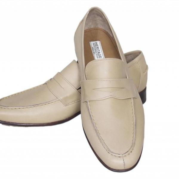 Handmade Mens White Derby Leather Shoes Made to order for formal dress Shoes